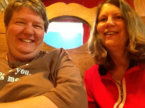 shari & I Sept 14, 10 month ampuversary (you werent here to celebrate)