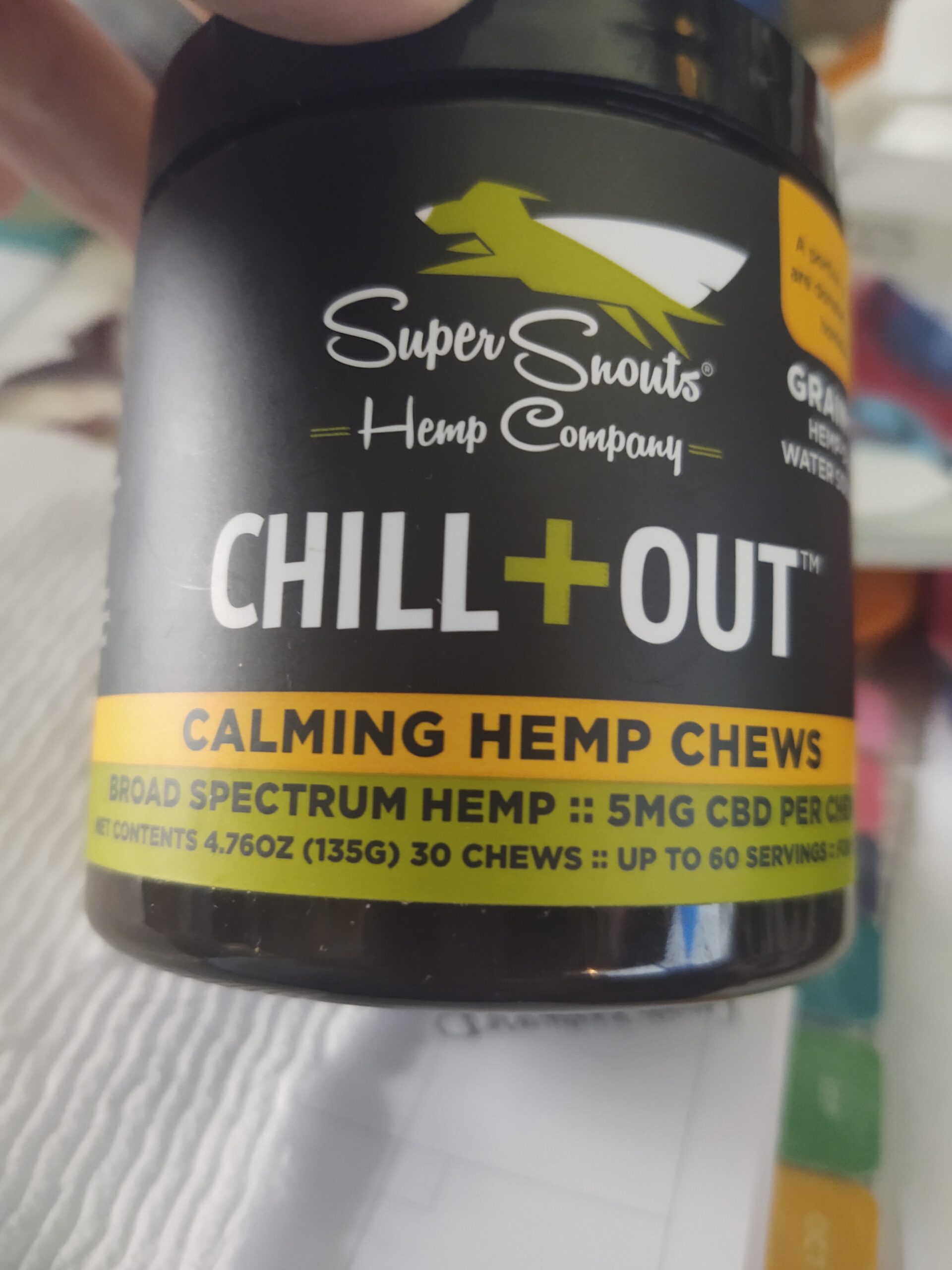 Super Snouts Chill Out Hemp Chews